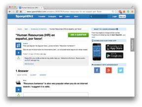 SpanishDict User Forum